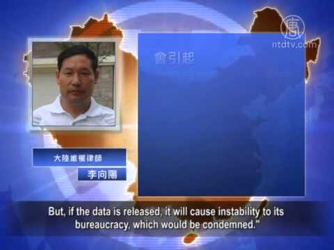 """China Concealing Truth About """"Naked Officials"""""""