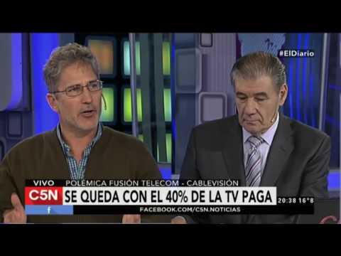Polémica fusión Telecom - Cablevisión