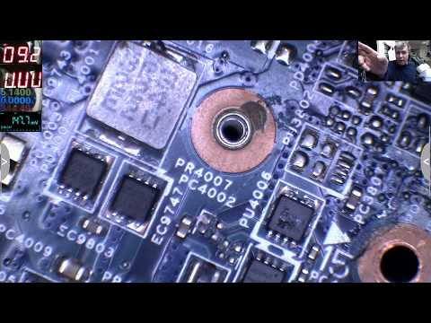 The Most Common Fault On a Laptop When is Not Coming on, Dead Mosfet