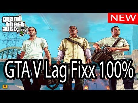 GTA V Lag Fix 100% • Rockstar Game • GTA 5