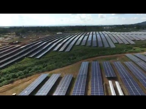 Largest Solar Power Plant in Caribbean Inaugurated - Monte Plata