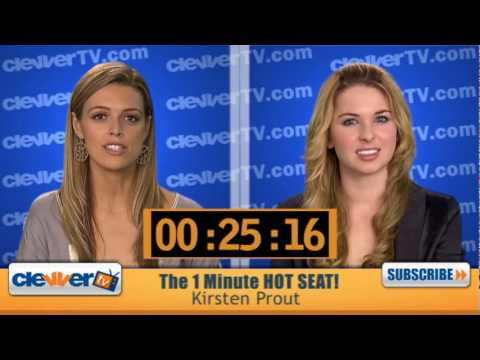 1 Minute Hot Seat  Kirsten Prout  In The Hot Seat