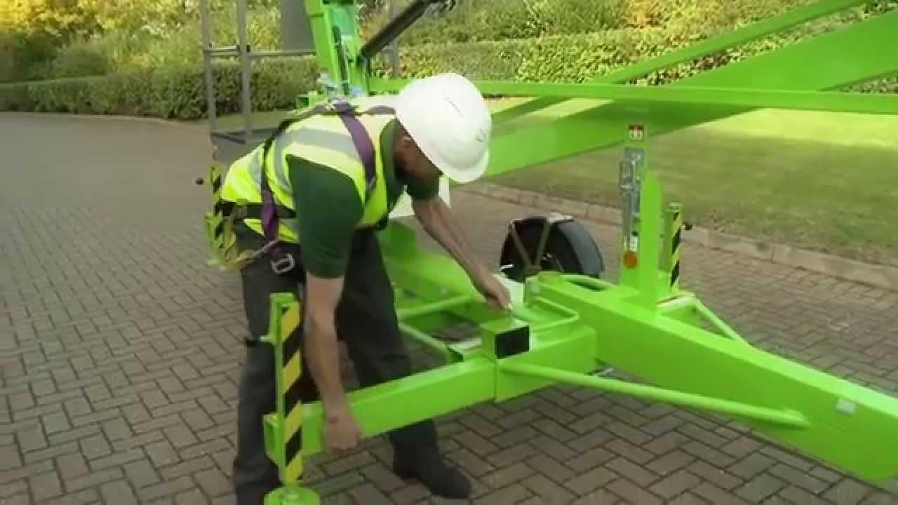 New Nifty Lift Tow Behind Man Lifts