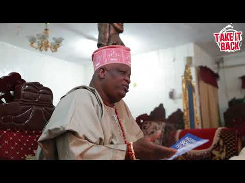 Omoyele Sowore Visits The Traditional Ruler of Isolo