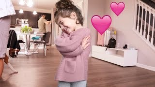CUTEST TODDLER MOMENT EVER!!!