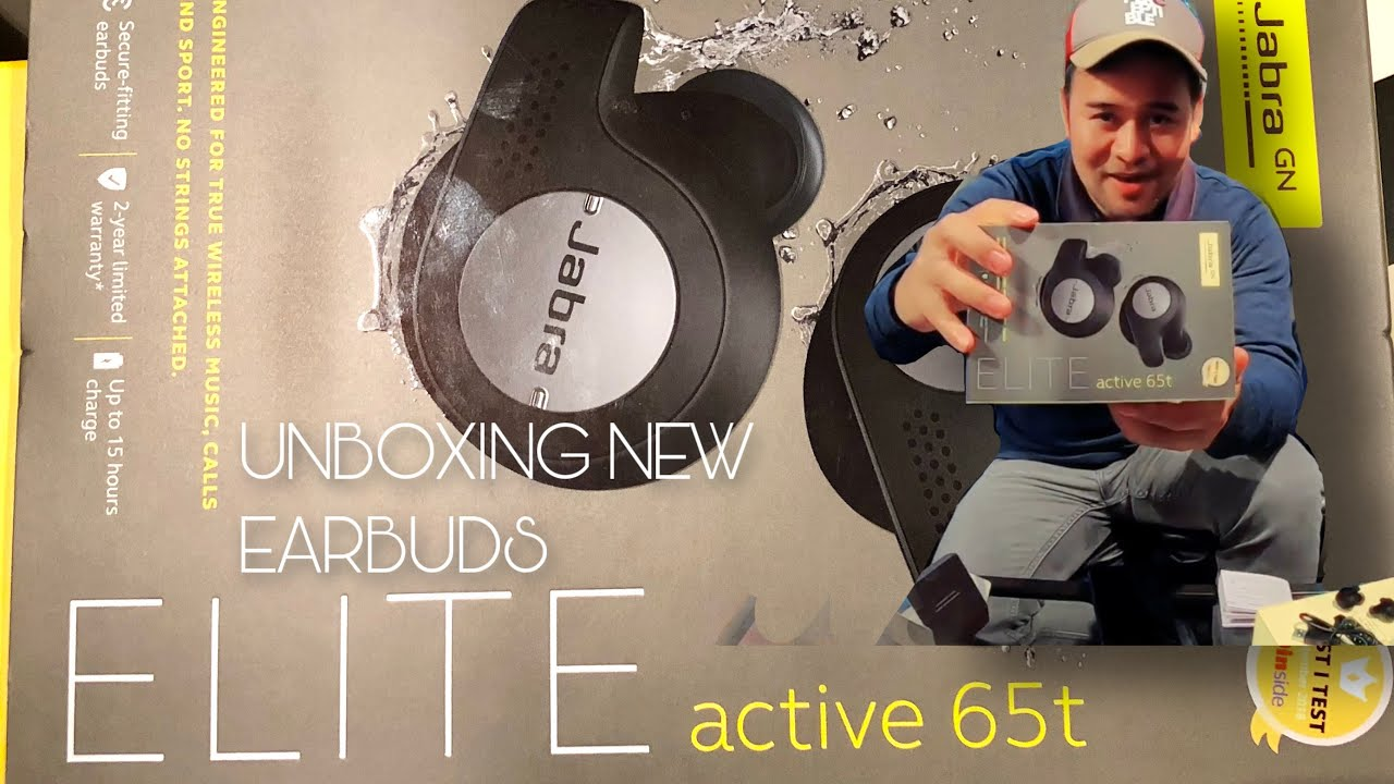 Unboxing Earbuds Jabra Elite 65T