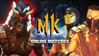 Baraka Must Defeat EVERY Scorpion: Mortal Kombat 11 - Online Matches (Stress Test)