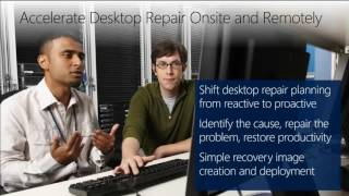 TechEd North America 2013 Making PC Recovery Easier with the Microsoft Diagnostics and Recovery Tool