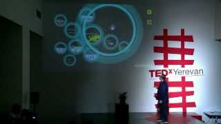 Be brave in the business of life: Nigel Sharp at TEDxYerevan
