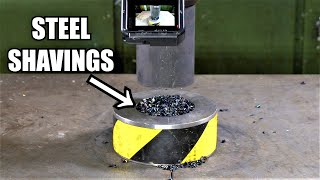 Can You Turn Metal Shavings into Solid Steel with Hydraulic ...