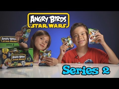 Opening A Box Of Angry Birds STAR WARS SERIES 2 Figures!