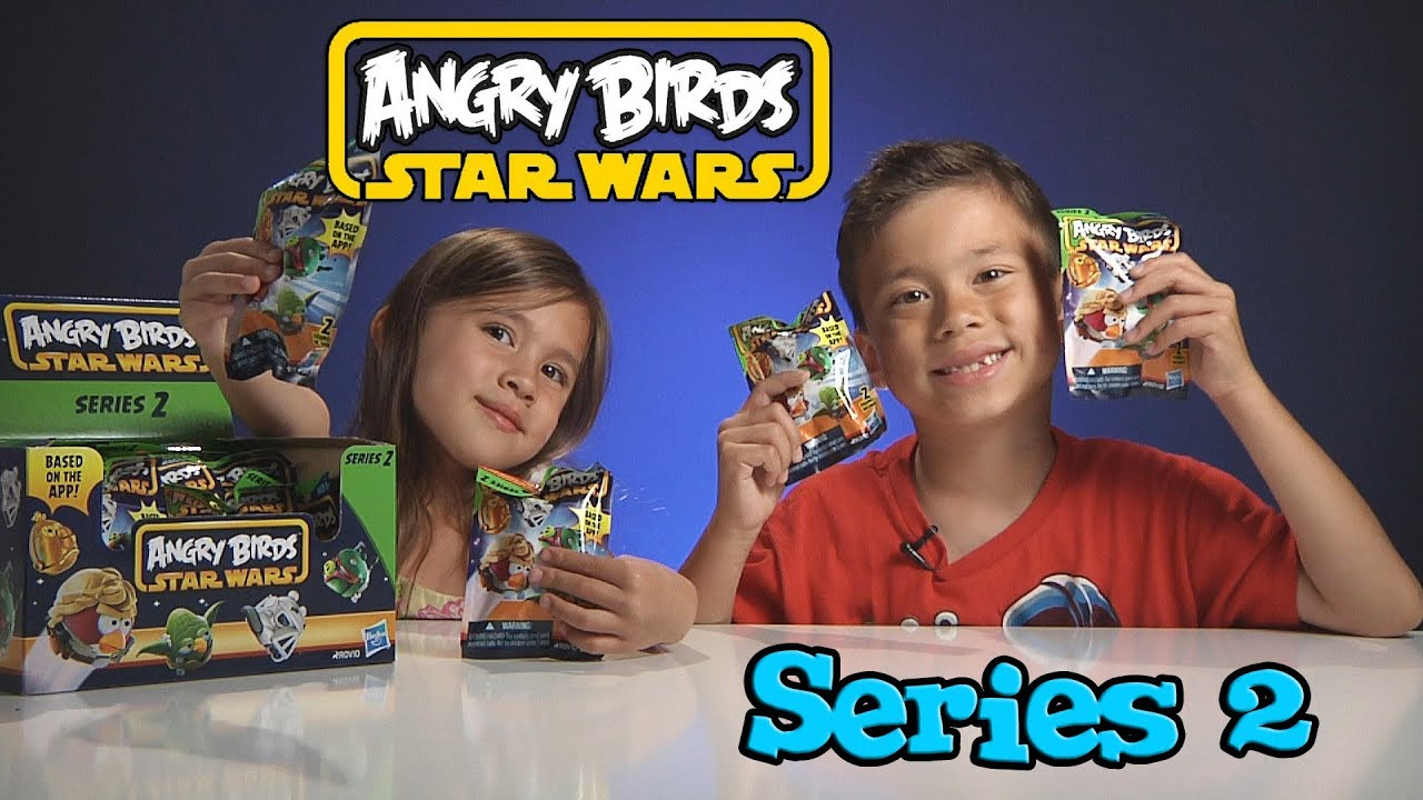 Opening a box of Angry Birds STAR WARS SERIES 2 Figures ...