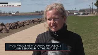 How will the pandemic influence your behavior in the future? | OUTBURST