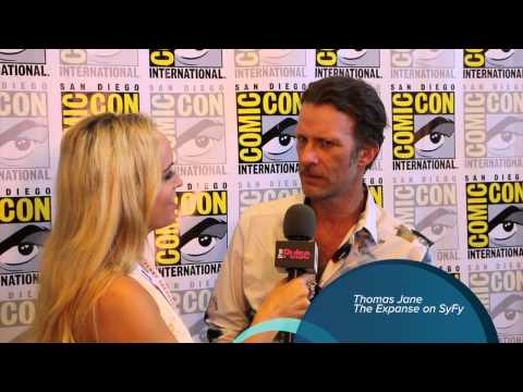 Thomas Jane  at Comic Con For The Expanse