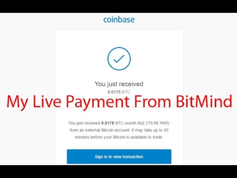 Live Btc Payment Proof From Bitmind - How to Invest in Bitcoin - Bitcoin Payment Proofs
