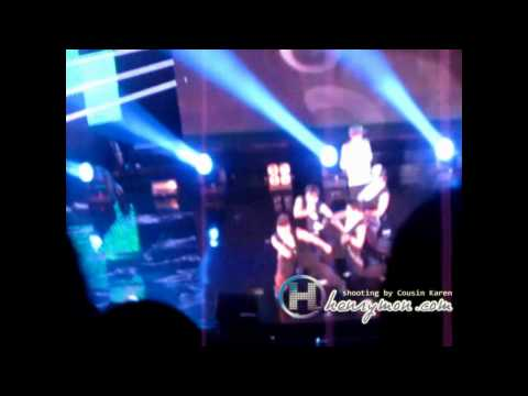 110606 SJM Fanmeeting 晚上場(第二場) Henry Solo 表白(off my mind)