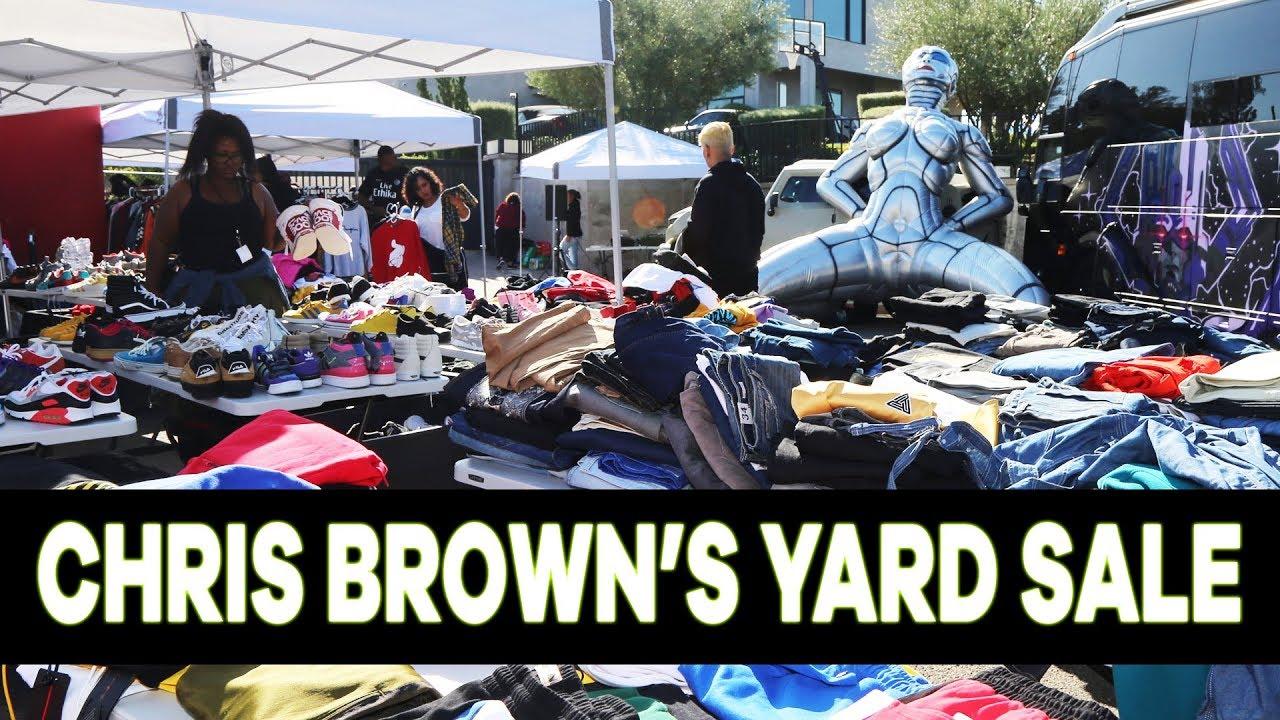 Chris Brown's Yard Sale Recap - YouTube