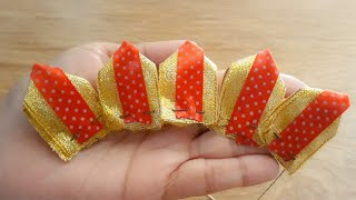 Amazing Ribbon Work|Hand Embroidery| Easy DIY Ribbon Flowers|Quicky Crafts