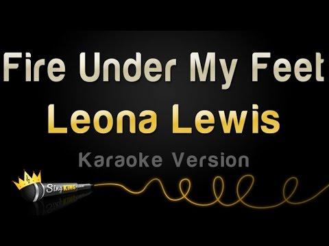 Leona Lewis Fire Under My Feet Karaoke Version