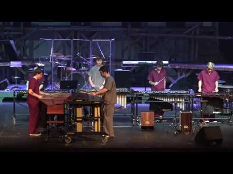 """RHS Percussion performing """"Catching Shadows"""" by Ivan Trevino"""