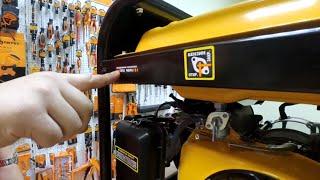 Бензогенератор RD-G3900EN RedVerg: какой бензиновый генератор лучше выбрать для частного дома и дачи