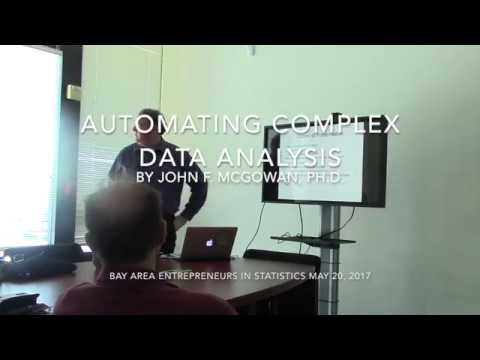 Automating Complex Data Analysis BAES May 20 2017