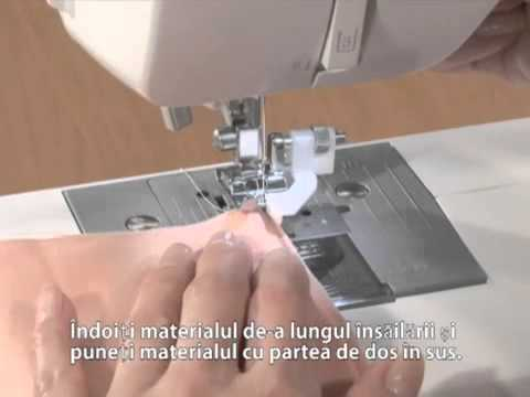 Piciorus pentru cusatura de tiv invizibil F017N / F018N
