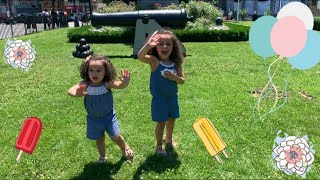 Kids Playing Colonial Games | City Kids