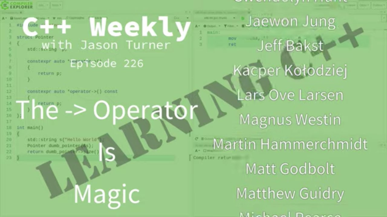 C++ Weekly - Ep 226 - The Arrow Operator Is Magic