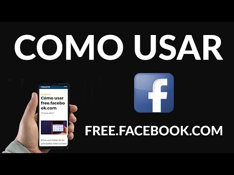 Cómo usar free.facebook.com