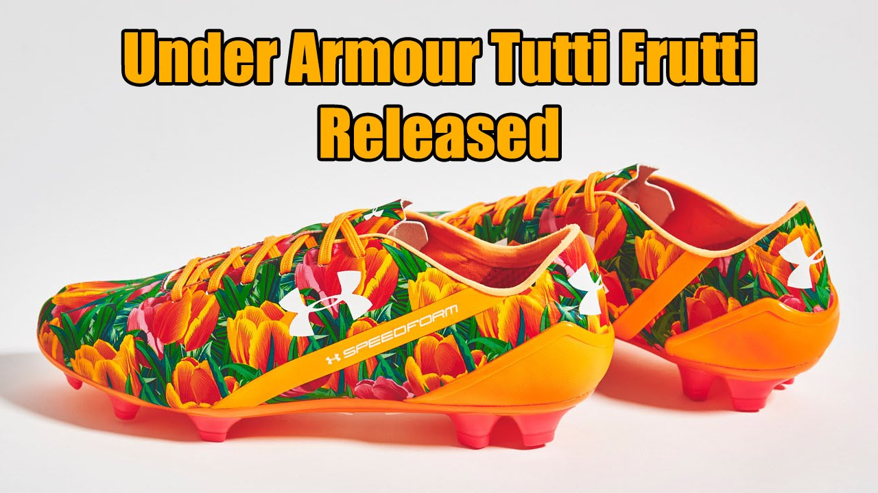 7ee7f32fc36b Under Armour Speedform Tutti Frutti Mother's Day Boots Released ...