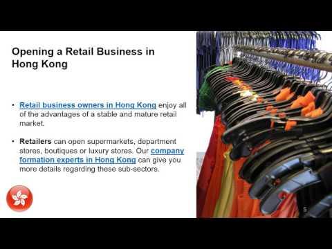 Start a Retail Business in Hong Kong