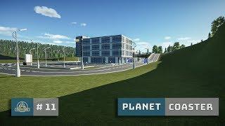 Planet Coaster: Ep. 12: Road Maintenance Depot - Guest Parking