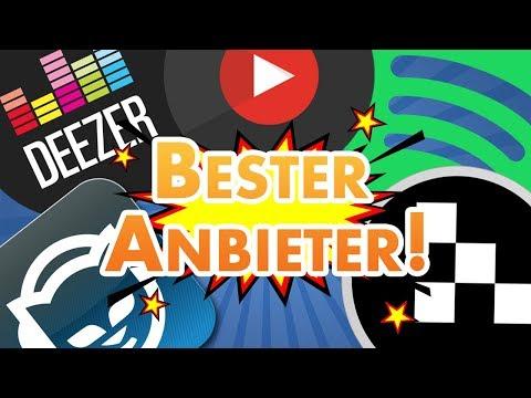 Die Besten Musik Streaming-Anbieter - Spotify, Deezer Und Co. Im Test 🎧