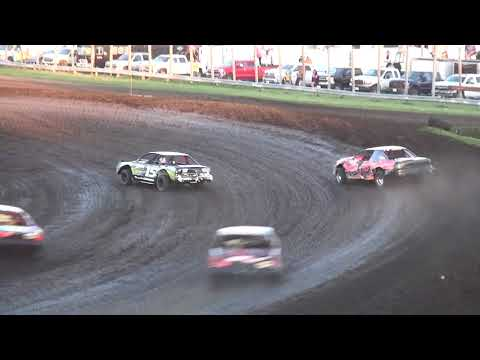 IMCA Stock Car feature Benton County Speedway 5/6/18