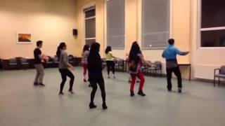 Hound dog line dance - DYD dancers