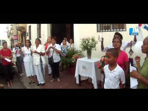Corpus  Christi en la Zona Colonial