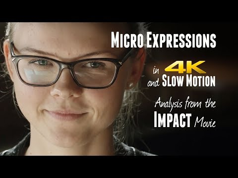 MICRO EXPRESSIONS Webinar in 4K Slow Motion - From IMPACT Movie - Micro Expressions Training