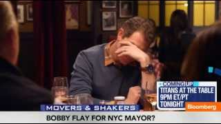 Bobby Flay for New York Mayor? The Chef Open to Politics