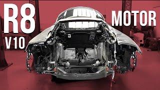 Audi R8 V10 Motor ausgebaut! | Daniel Abt