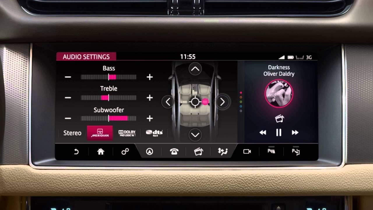 Jaguar XF 2017 | InControl Touch Pro Settings