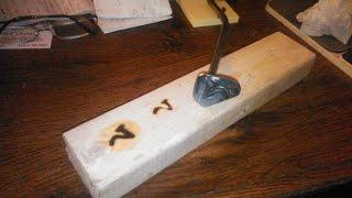 Custom welded branding iron
