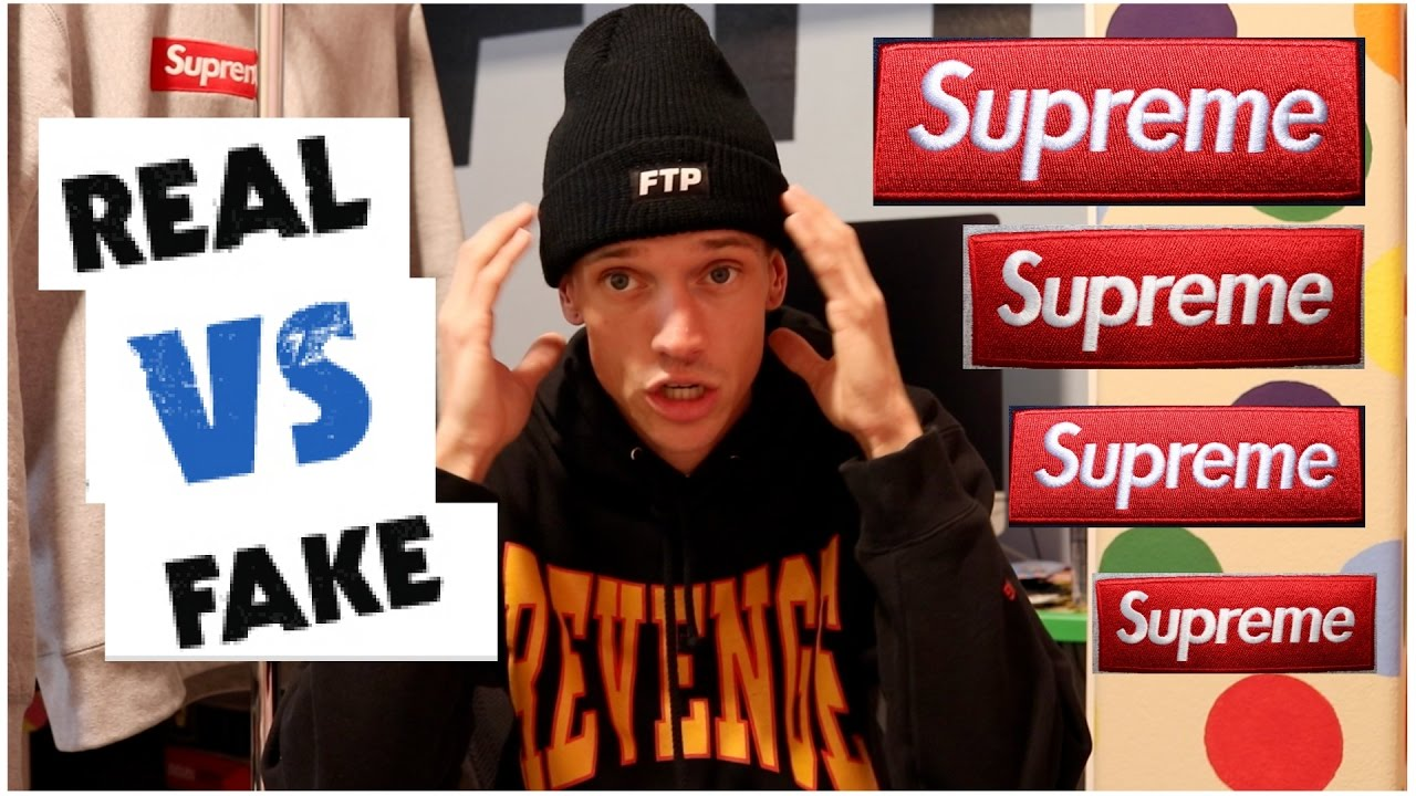 How To Spot Authentic Supreme Vs Fake: Ultimate Guide
