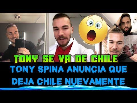 TONY SPINA ANUNCIO QUE SE VA DE CHILE