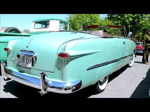 1950 METEOR CONVERTIBLE - RARE CANADIAN CAR - YouTube