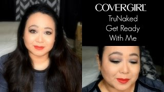 Cover Girl TruNaked - Nudes, Goldens and Roses Palette - Tutorial - GRWM