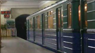 Trains of Moscow Metro - Filevskaya (4) Line: E*