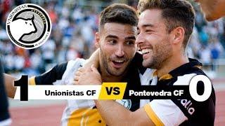 Unionistas CF 1-0 Pontevedra CF (Jornada 1) 2018/2019