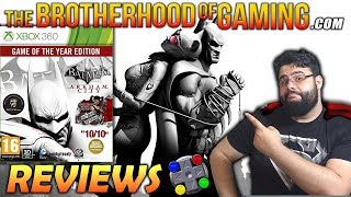 Batman Arkham City: Game of the Year Edition Review - The Brotherhood of Gaming