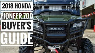 2018 Honda Pioneer 700 Model Lineup Explained / Differences | UTV / Side by Side Buyer's Guide